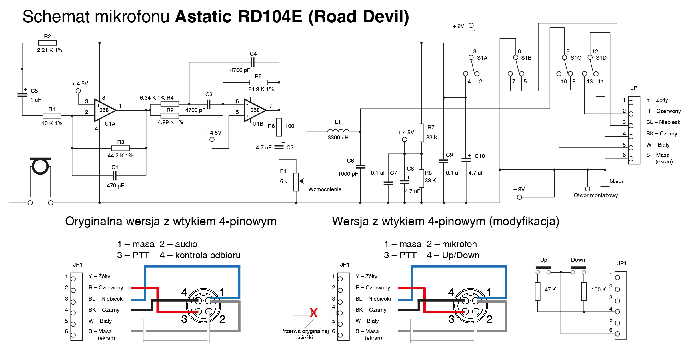 Diagram Download Wiring Diagram 4 Pin Astatic Rd104e FULL Version HD  Quality Astatic Rd104e - DIAGRAMSONG.ITISRIGHI.ITitisrighi.it